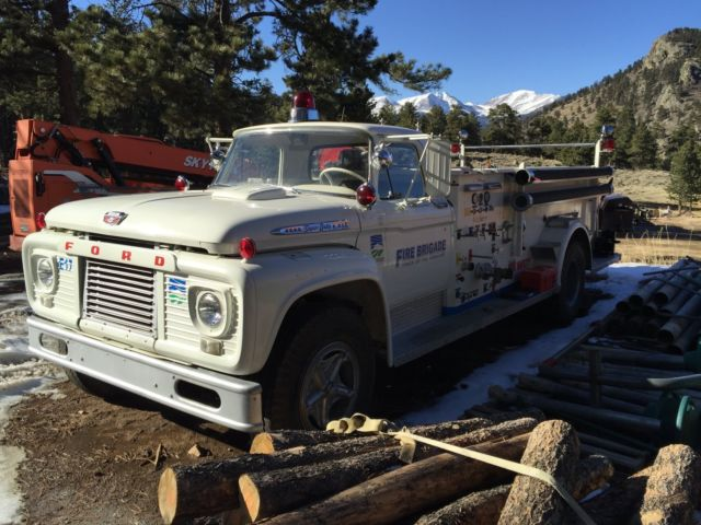 1961 Ford F-850 Fire Truck for sale: photos, technical ...