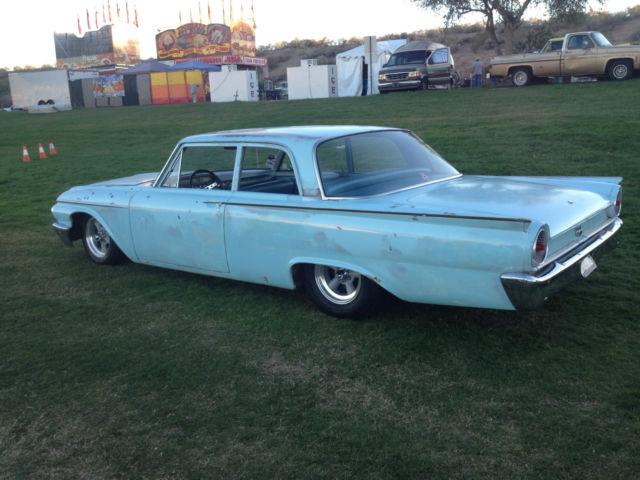 1961 ford fairlane hotrod gasser street hot custom rat rod cruiser two door cool for sale