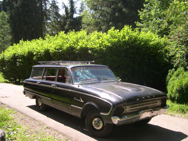 1961 ford falcon station wagon for sale photos technical specifications description. Black Bedroom Furniture Sets. Home Design Ideas