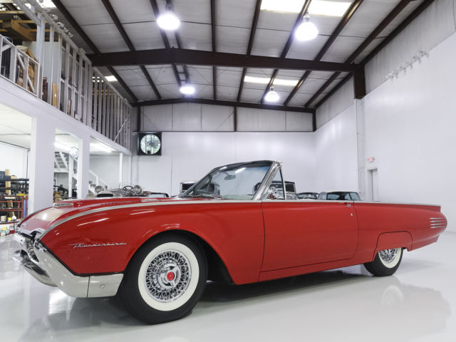 1961 Ford Thunderbird Convertible,  59,000 miles! Beautifully restored
