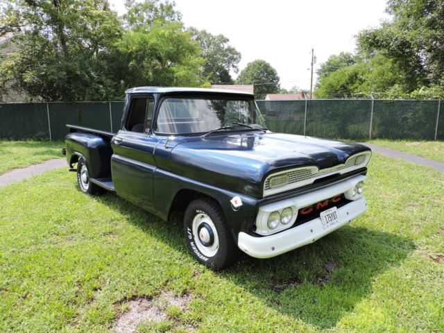 1961 Blue GMC Other Pick up with Gray interior