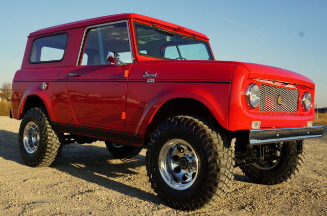1961 International Harvester Scout Scout 80 Scout 800