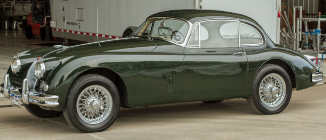 1961 Jaguar XK Fixed head coupe