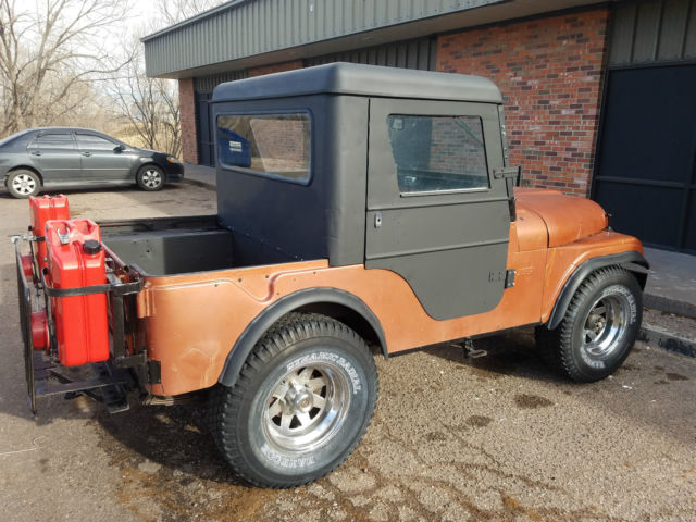 Jeep Cj5 For Sale >> 1961 Jeep Willys CJ5 Pickup Meyer Half Cab V-6 3 Speed Survivor for sale: photos, technical ...