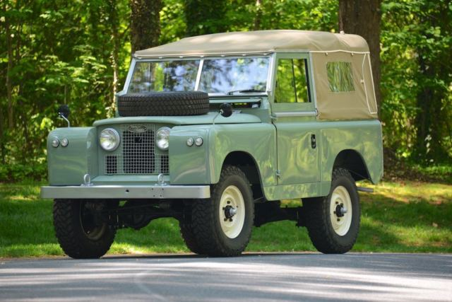 1961 land rover series ii 88 lhd for sale: photos, technical