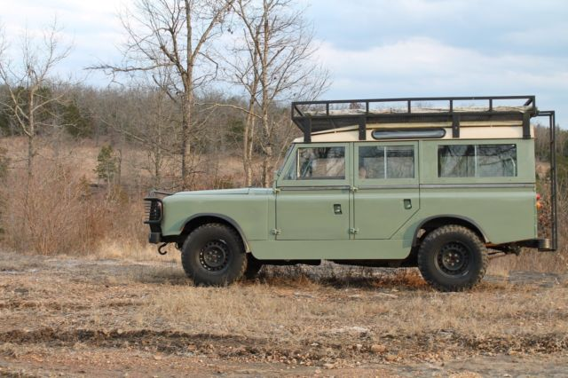 1961 land rover series iia 109 2a defender hybrid 5 0 overland for sale photos technical. Black Bedroom Furniture Sets. Home Design Ideas