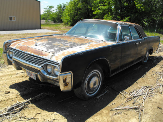 1961 Lincoln Continental 4-door Hard Top PARTS OR PROJECT for sale