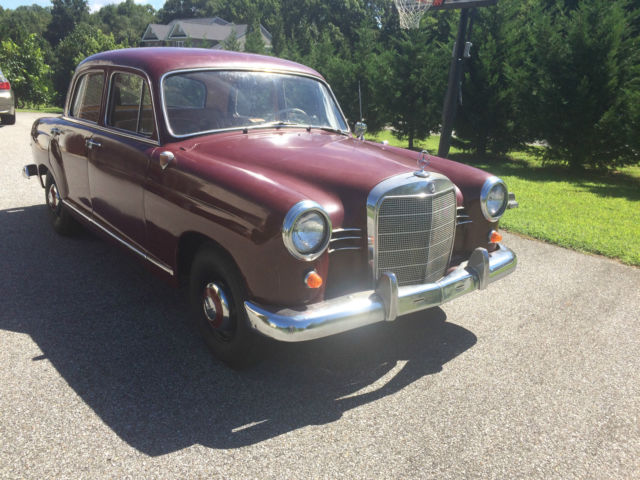 1961 Mercedes-Benz 190-Series 190b