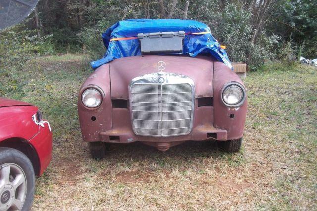1961 mercedes benz 190d pontoon project car for sale photos 1961 mercedes benz 190d pontoon project car sciox Images
