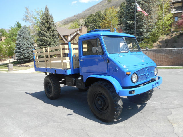 1961 Mercedes-Benz Other Unimog 404.1 S Hardtop