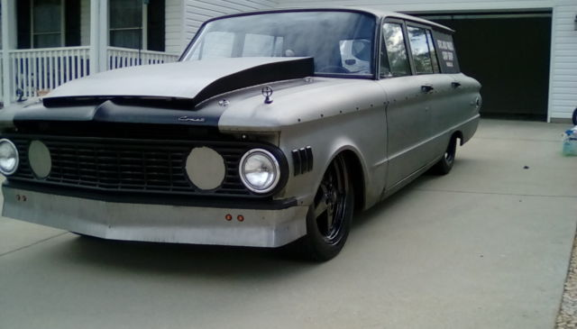 1961 mercury comet station wagon cummins diesel rat rod. Black Bedroom Furniture Sets. Home Design Ideas