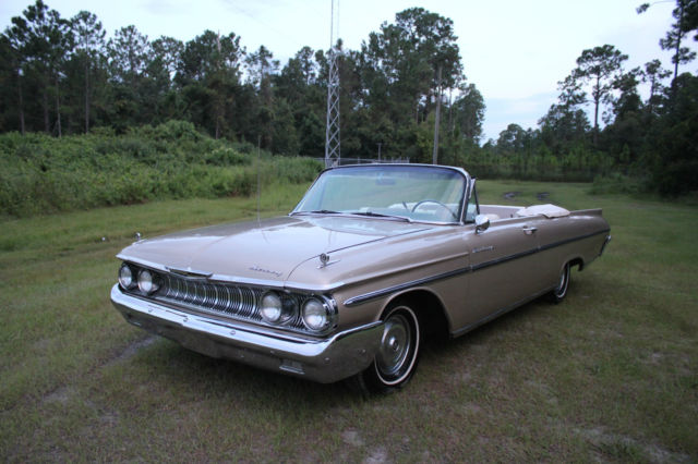 1961 Mercury Monterey Convertible 352 Must See Call Now Don't Miss It