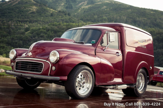 1961 Other Makes Morris Minor $45K Panel Truck 400HP 355 V8 HOTROD SHOP TRUCK