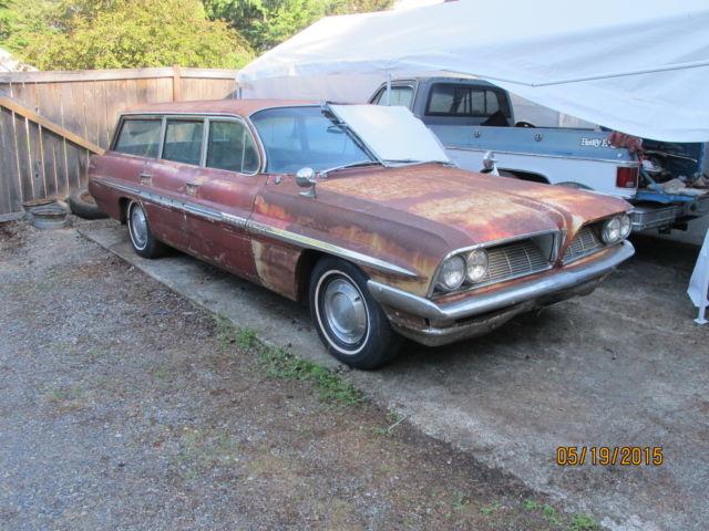 1961 pontiac bonneville station wagon for sale photos technical specifications description