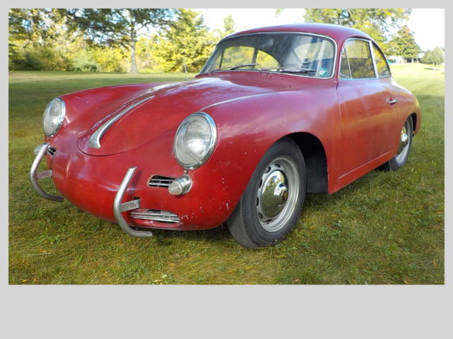 1961 Porsche 356 2-Door Coupe