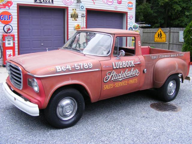 1961 Studebaker Champ   faux dealership truck   99% orig