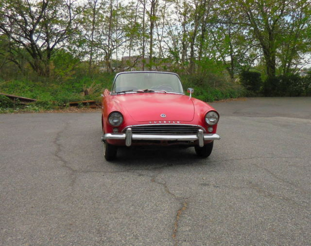 1961 Other Makes Sunbeam Alpine