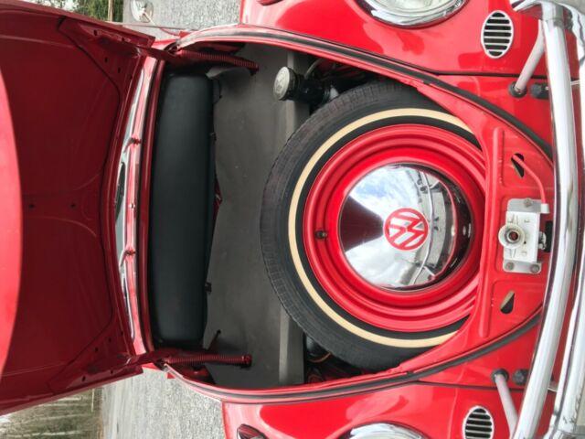 1961 Volkswagen Beetle Cabriolet for sale: photos, technical specifications, description