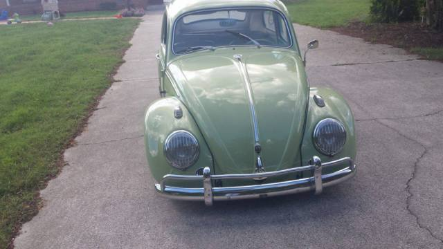 1961 Volkwagen beetle Slammed lowered bug samba Green for sale: photos, technical specifications ...