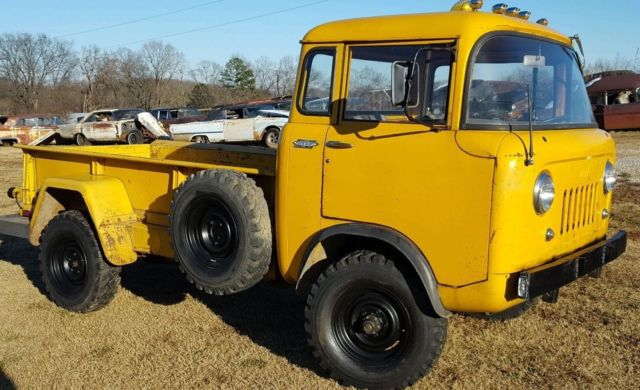 1961 Willys Jeep Fc170 Ford Control Coe Rare For Sale Photos