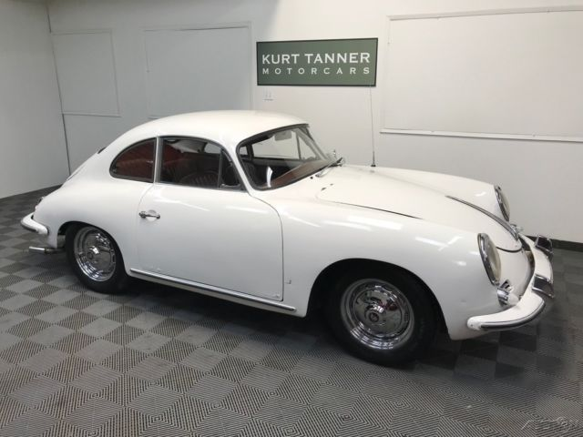 1961 Porsche 356 356 B T-5 COUPE. 4-SPEED.