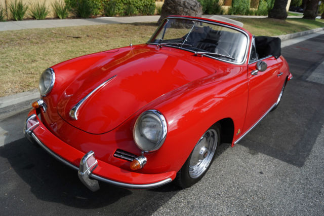 1962 Porsche 356 B 1600 APPEARS TO BE MATCHING #'S T6 CABRIOLET!