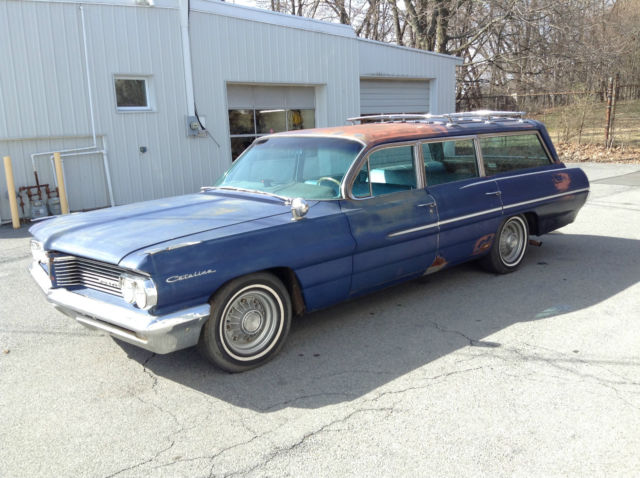 1962 62 pontiac catalina safari wagon for sale photos. Black Bedroom Furniture Sets. Home Design Ideas