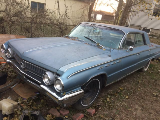 1962 Buick Electra 225 6.6L Wildcat 445 Engine Runs, Drives, Stops, Steers