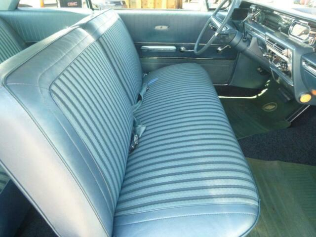 1962 Blue Buick LeSabre Coupe with Blue interior