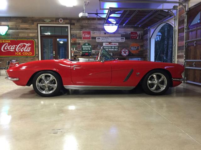Resto Mod Cars For Sale: 1962 C1 Corvette Resto Mod For Sale: Photos, Technical