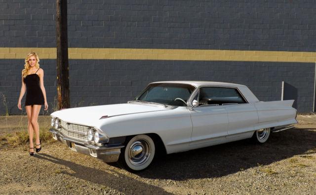 1962 Cadillac DeVille 62 CUSTOM CADDY LOWERED SHAVED HARDTOP NO RESERVE!!!
