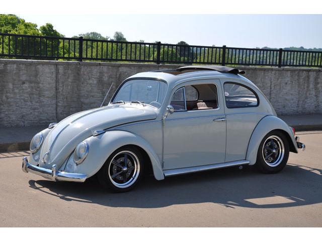 1962 Cal Style Volkswagen Beetle Sliding Ragtop For Sale