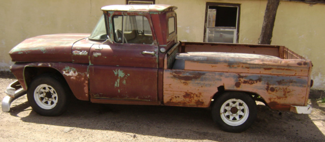 1962 CHEVROLET C10 1/2 TON PICKUP SHORT BED 350 CRATE ENGINE