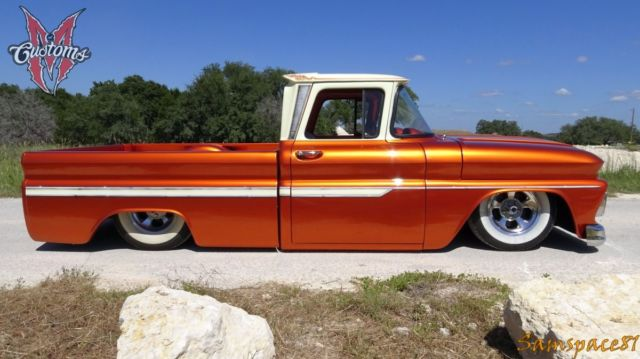1962 chevrolet c10 fleetside shortbed bagged candy iron resurrection texas truck for sale. Black Bedroom Furniture Sets. Home Design Ideas