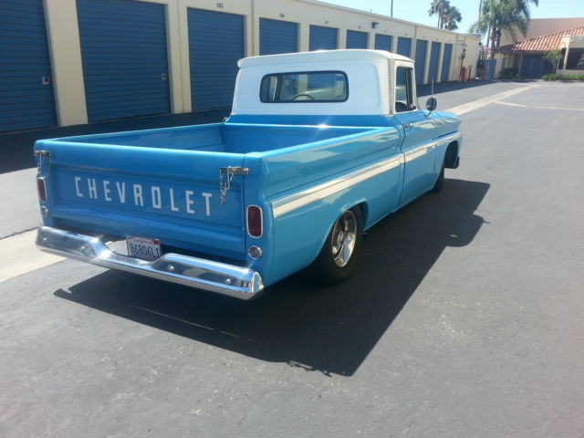 1962 Chevrolet C10 Pickup Hot Rod Shop Truck With Bags And