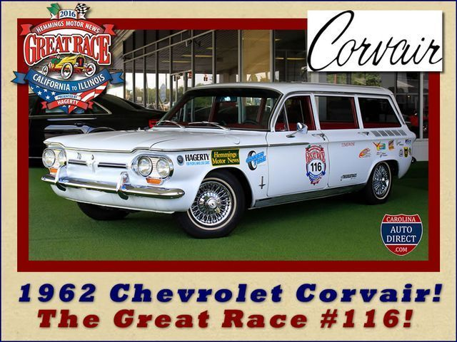 1962 Chevrolet Corvair Monza Station Wagon - THE GREAT RACE #116