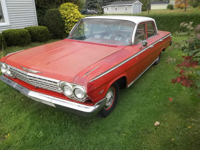 1962 Chevrolet Impala 4 Door Sedan For Sale Photos