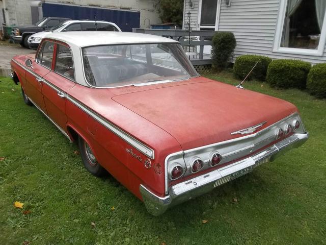 1962 Chevrolet Impala 4 Door Sedan For Sale Photos