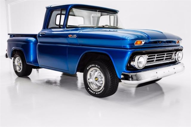 1962 Chevrolet Pickup C10, Stepside short box