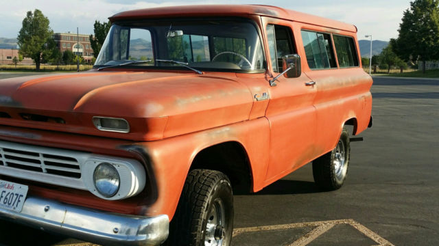 1962 Chevrolet Suburban C10 Chevy For Sale Photos