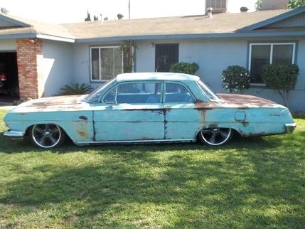 1962 Chevrolet BISCAYNE 2 DR POST AIR RIDE BISCAYNE 2 DR POST AIR RIDE