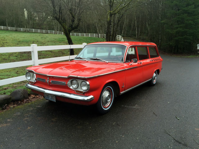 1962 Chevrolet Corvair Monza Station Wagon