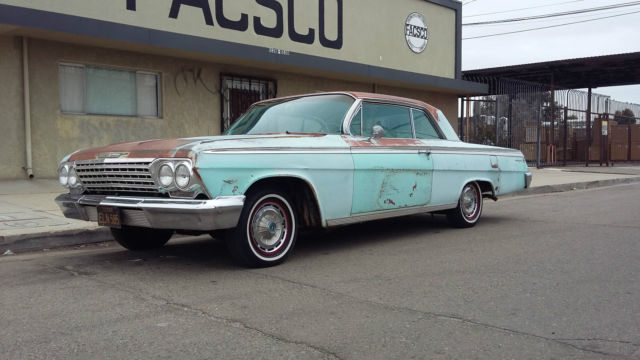1962 Chevy Impala Barn Find Patina Original Not Ss 1964 1963