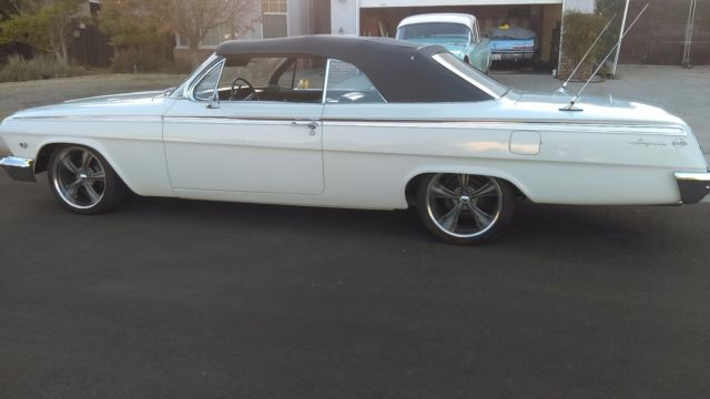 1962 chevy impala ss convertible for sale photos technical. Black Bedroom Furniture Sets. Home Design Ideas