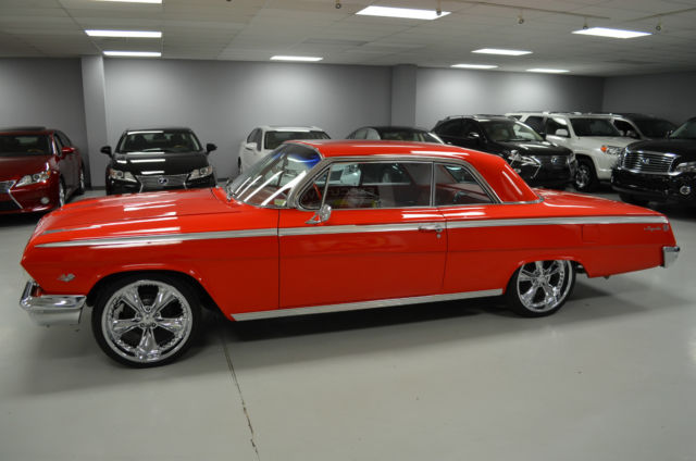 1962 chevy impala ss restomod for sale photos technical. Black Bedroom Furniture Sets. Home Design Ideas
