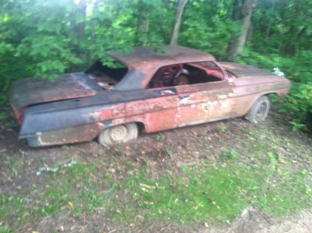 1962 Chevy Impala Ss Super Sport Project Plus 2nd Parts Car 2 For