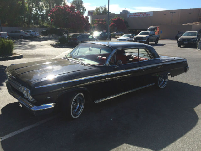 1962 chevy impala super sport cailfornia true ss for sale photos technical specifications. Black Bedroom Furniture Sets. Home Design Ideas