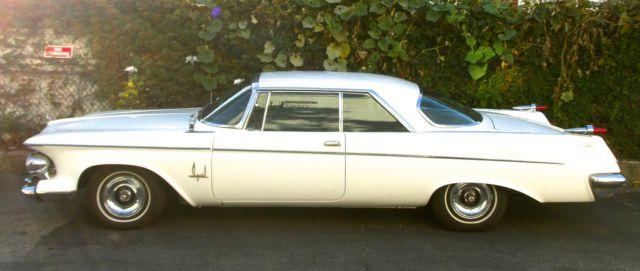 prevnext & 1962 Chrysler Imperial Southampton 2 door Crown Coupe Factory A/C ...