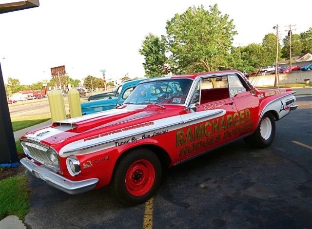 1962 Dodge Dart 440 trim