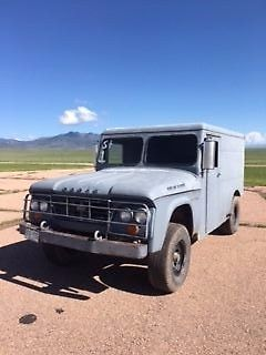 1962 Dodge Power Wagon Power Wagon